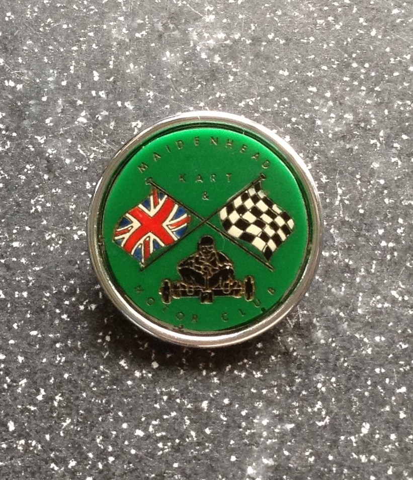 MAIDENHEAD KART & MOTOR CLUB BADGE
