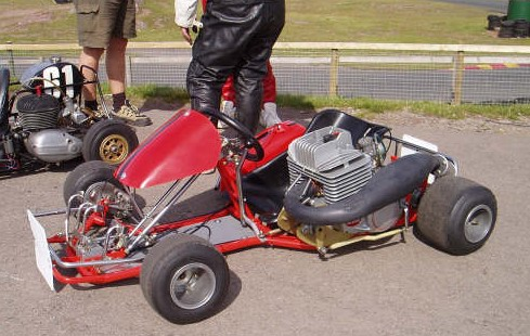 John Essas Beautifully restored SPRINT / KTM 250 at Rowrah 2005 Weekend