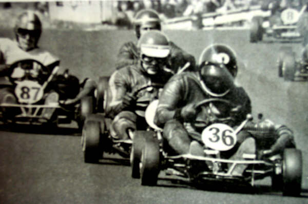 Ken Glendinning Leads the pack at Morecombe World Cup 1970
