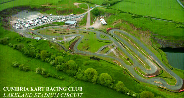 This is Rowrah kart track as it is today