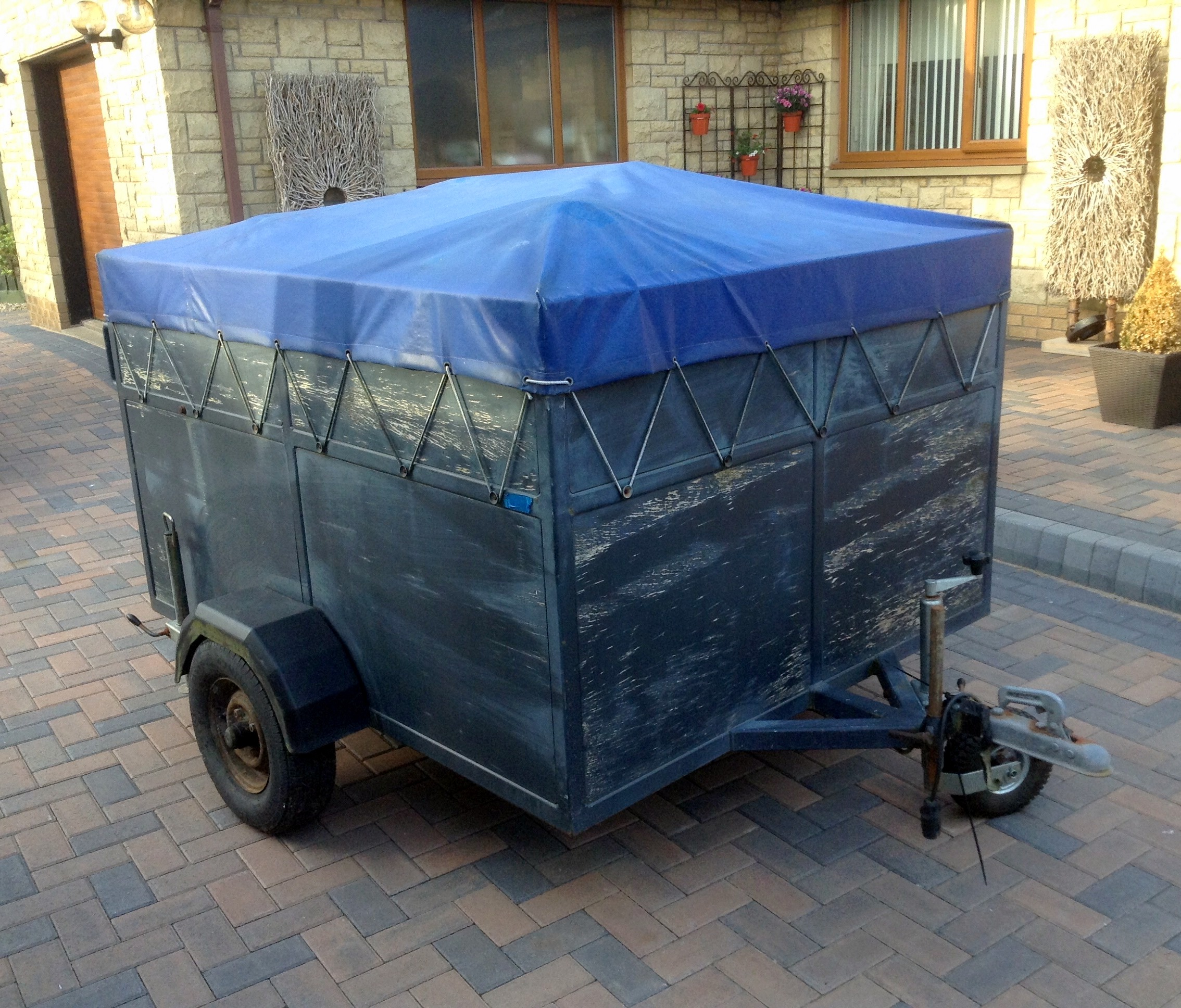 DOUBLE KART TRAILER FORE SALE